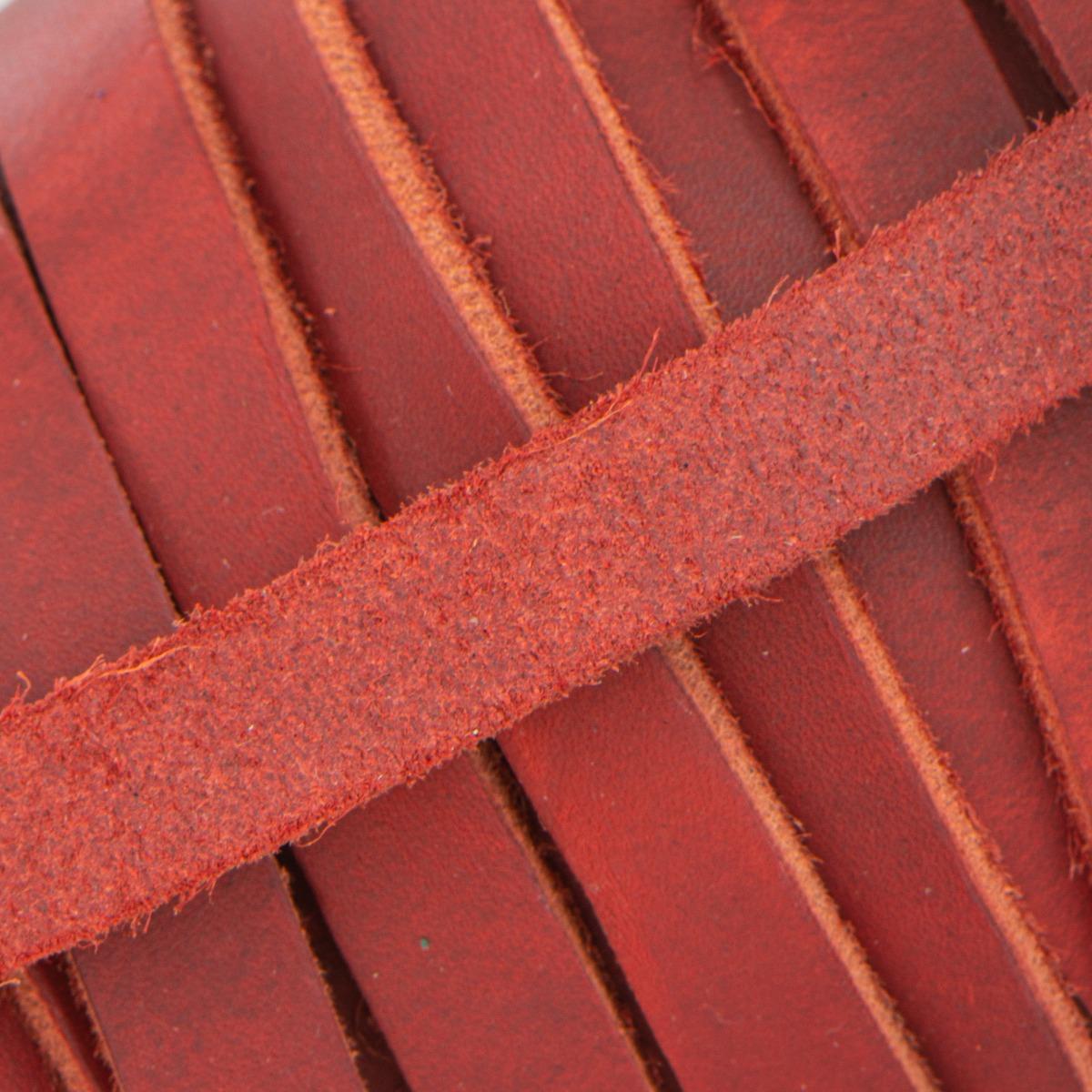 Lanière en cuir graissé (cuir Pull-Up) de 15 mm