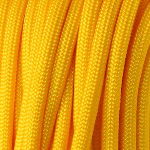 Golden Yellow Polyester Paracorde Type III